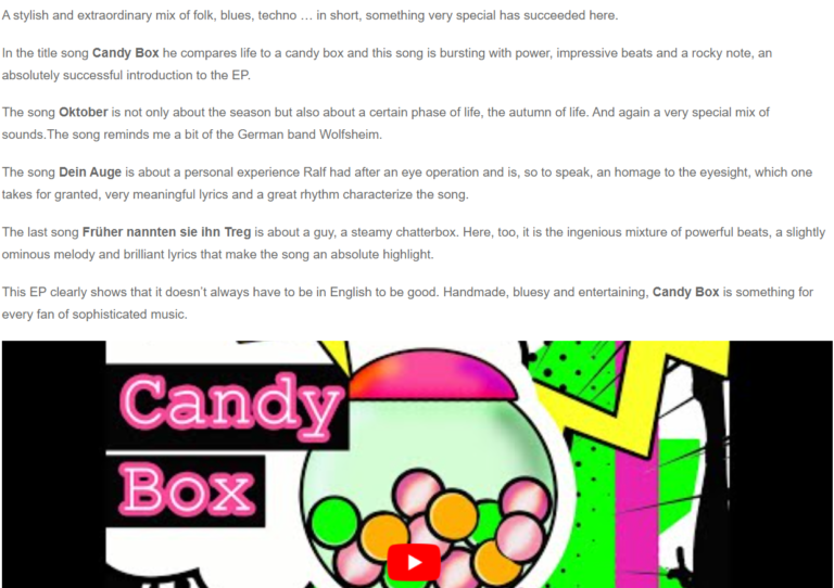 Candy Box Review